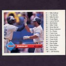1993 Donruss Baseball #132 Roberto Alomar / Devon White / Checklist 81-159