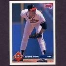 1993 Donruss Baseball #130 John Smoltz - Atlanta Braves