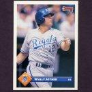 1993 Donruss Baseball #129 Wally Joyner - Kansas City Royals