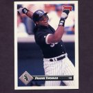 1993 Donruss Baseball #007 Frank Thomas - Chicago White Sox