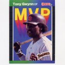 1989 Donruss Baseball Bonus MVP's #BC20 Tony Gwynn - San Diego Padres