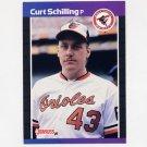 1989 Donruss Baseball #635 Curt Schilling RC - Baltimore Orioles NM-M