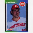 1989 Donruss Baseball #426 Rob Dibble RC - Cincinnati Reds