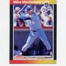 1989 Donruss Baseball #416 Mike Macfarlane RC - Kansas City Royals