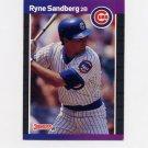 1989 Donruss Baseball #105 Ryne Sandberg - Chicago Cubs ExMt