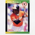 1989 Donruss Baseball #096 Eddie Murray - Baltimore Orioles