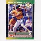 1989 Donruss Baseball #095 Mark McGwire - Oakland A's