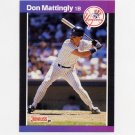 1989 Donruss Baseball #074 Don Mattingly - New York Yankees