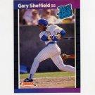 1989 Donruss Baseball #031 Gary Sheffield RC - Milwaukee Brewers NM-M