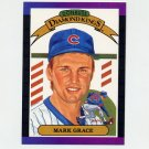 1989 Donruss Baseball #017 Mark Grace Diamond Kings - Chicago Cubs