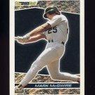 1993 Topps Black Gold Baseball #39 Mark McGwire - Oakland A's