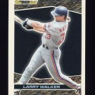1993 Topps Black Gold Baseball #22 Larry Walker - Montreal Expos