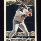 1993 Topps Black Gold Baseball #08 Tony Gwynn - San Diego Padres