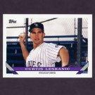 1993 Topps Baseball #774 Curt Leskanic RC - Colorado Rockies
