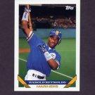 1993 Topps Baseball #757 Harold Reynolds - Seattle Mariners