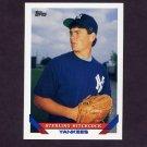 1993 Topps Baseball #530 Sterling Hitchcock RC - New York Yankees