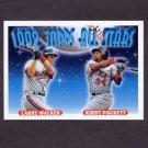 1993 Topps Baseball #406 Larry Walker - Montreal Expos / Kirby Puckett - Minnesota Twins AS