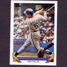 1993 Topps Baseball #397 George Brett - Kansas City Royals