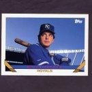 1993 Topps Baseball #375 Wally Joyner - Kansas City Royals