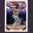 1993 Topps Baseball #362 Luis Gonzalez - Houston Astros