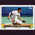 1993 Topps Baseball #354 Jay Bell - Pittsburgh Pirates