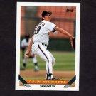 1993 Topps Baseball #310 Dave Righetti - San Francisco Giants