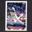 1993 Topps Baseball #222 Bernie Williams - New York Yankees