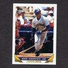 1993 Topps Baseball #179 Ken Griffey Jr. - Seattle Mariners