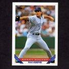 1993 Topps Baseball #169 Kenny Rogers - Texas Rangers