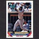 1993 Topps Baseball #051 Mo Vaughn - Boston Red Sox