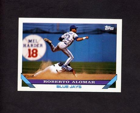 1993 Topps Baseball #050 Roberto Alomar - Toronto Blue Jays