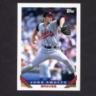1993 Topps Baseball #035 John Smoltz - Atlanta Braves