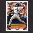 1993 Topps Baseball #025 John Franco - New York Mets
