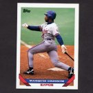 1993 Topps Baseball #015 Marquis Grissom - Montreal Expos