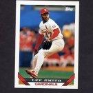 1993 Topps Baseball #012 Lee Smith - St. Louis Cardinals