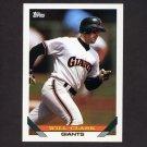 1993 Topps Baseball #010 Will Clark - San Francisco Giants