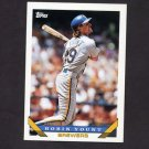 1993 Topps Baseball #001 Robin Yount - Milwaukee Brewers ExMt