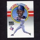 1990 Fleer Baseball All-Stars #11 Ruben Sierra - Texas Rangers