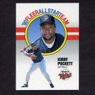 1990 Fleer Baseball All-Stars #07 Kirby Puckett - Minnesota Twins