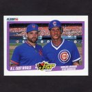 1990 Fleer Baseball #639 Howard Johnson - NY Mets / Ryne Sandberg - Chicago Cubs