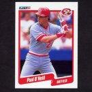 1990 Fleer Baseball #427 Paul O'Neill - Cincinnati Reds