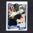 1990 Fleer Baseball #410 Jose Vizcaino RC - Los Angeles Dodgers