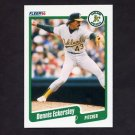 1990 Fleer Baseball #006 Dennis Eckersley - Oakland A's