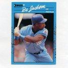 1990 Donruss Best AL Baseball #063 Bo Jackson - Kansas City Royals