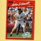 1990 Donruss Baseball #643 Mike Schmidt - Philadelphia Phillies NM-M
