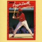 1990 Donruss Baseball #201 Ozzie Smith - St. Louis Cardinals