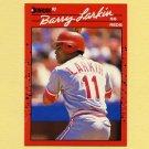1990 Donruss Baseball #071 Barry Larkin - Cincinnati Reds