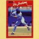 1990 Donruss Baseball #061 Bo Jackson - Kansas City Royals