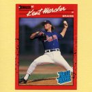 1990 Donruss Baseball #031 Kent Mercker RC - Atlanta Braves