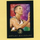 1995-96 E-XL Basketball #078 Detlef Schrempf - Seattle Supersonics